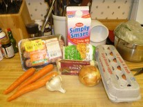 Sausage & Egg Casserole Ingredients
