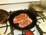 Grilling The Porterhouse