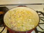 American Southern Succotash Soup With Chicken