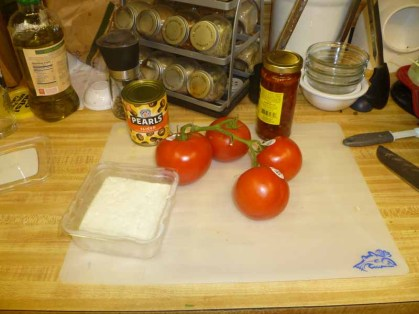Tomato Feta Pasta Ingredients
