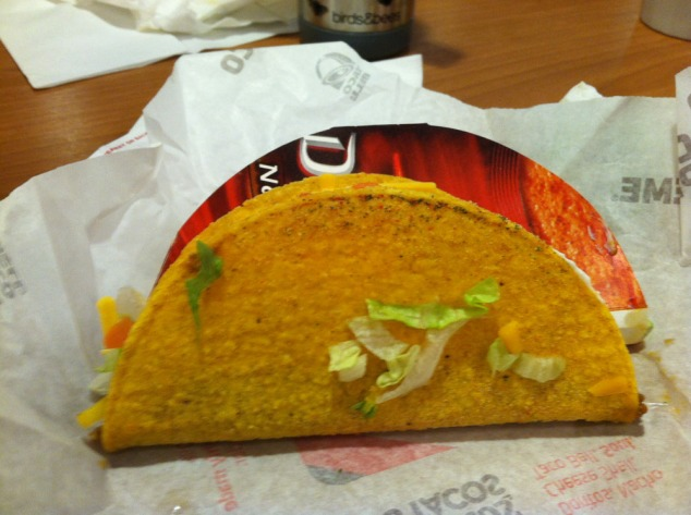 cool ranch dorito taco