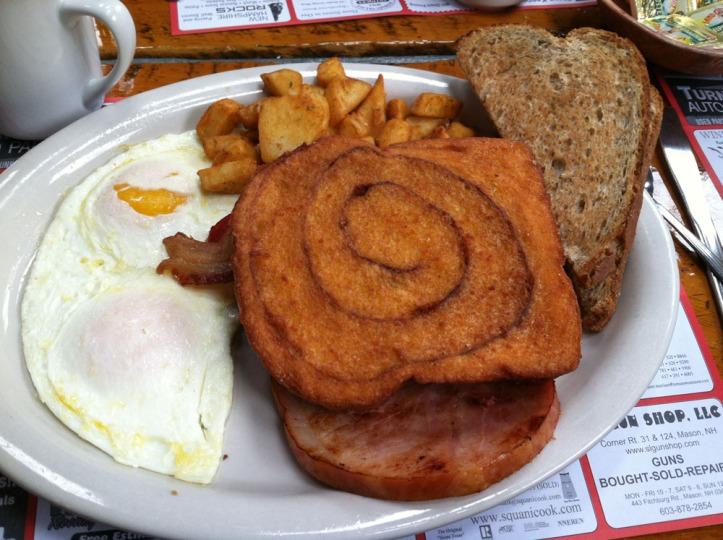 parker's breakfast