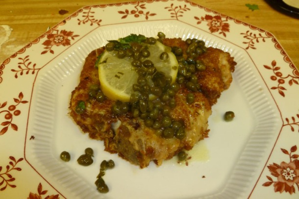 ruhlman's sage-garlic brined pork chops