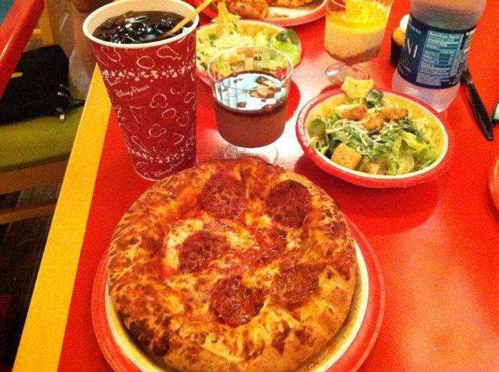 pizzafari lunch