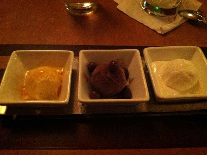 waves sherbert dessert