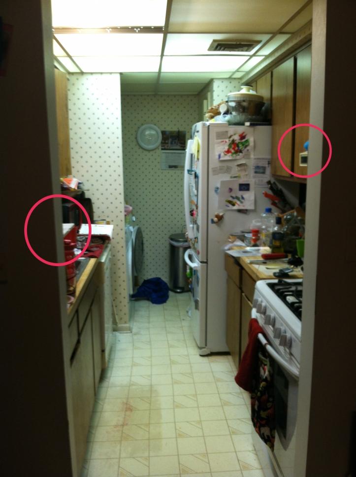 wusic kitchen set up